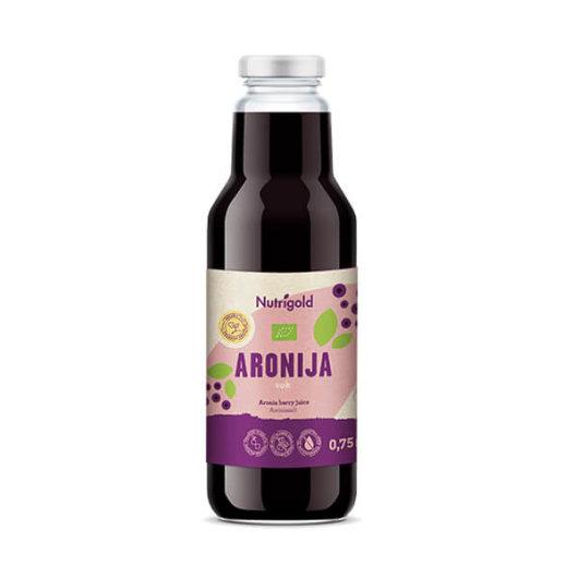 Aronija sok ORGANSKI 750ml - Nutrigold