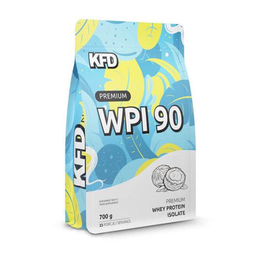 Proteini WPI 90 700g kokos - KFD Nutrition