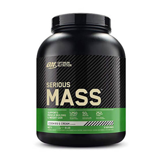 Serious Mass gainer u crno zelenoj katici od Optimum Nutritiona