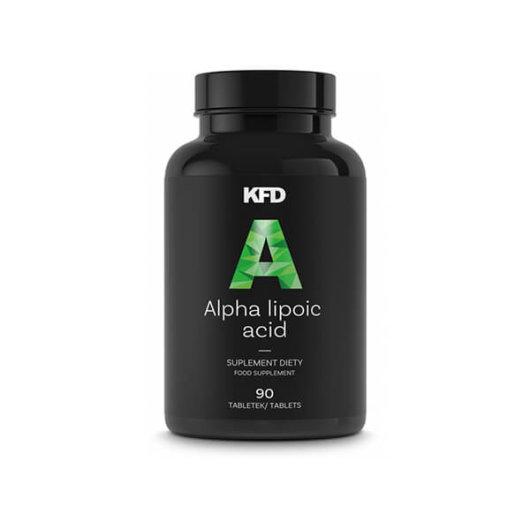 Alpha Lipoic Acid (ALA) -alfa lipoična kiselina u crnoj plastičnoj kutijici proizvođača KFD Nutrition