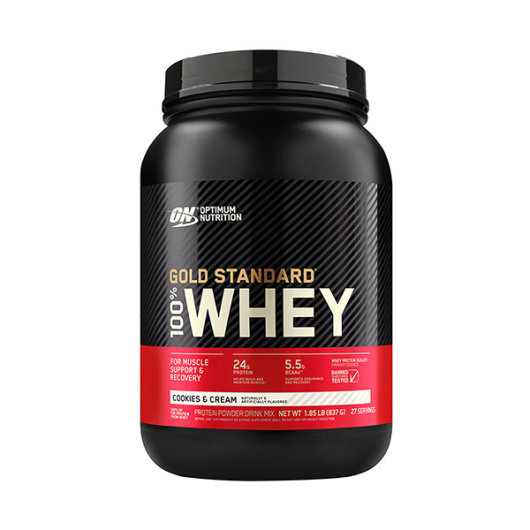 Gold standard 100% Whey protein 908g cookies & cream - Optimum Nutrition