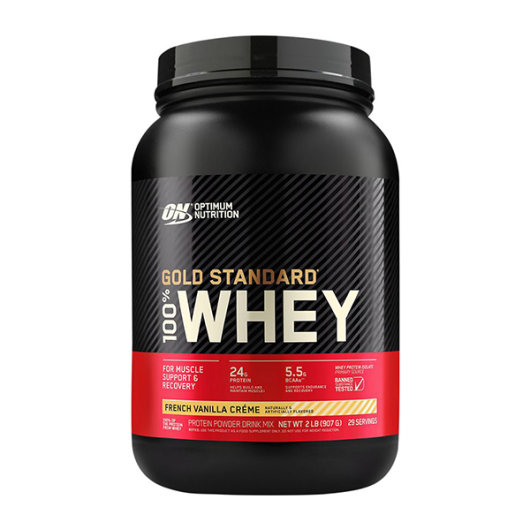 Gold standard 100% Whey protein 908g french vanilla - Optimum Nutrition