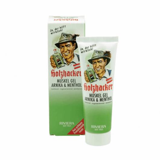 Holzhacker gel za opuštanje Arnika & Mentol 75ml - Riviera