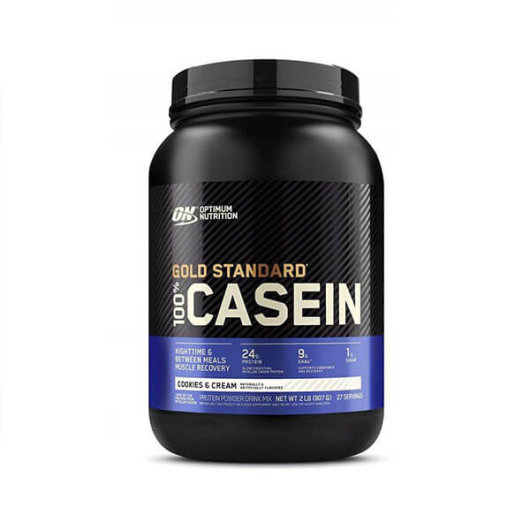 Casein  Proteini Gold Standard 908g cookies – Optimum Nutrition