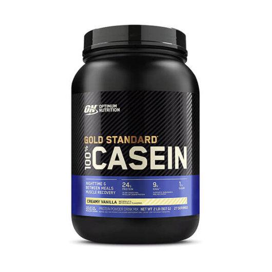 Casein  Proteini Gold Standard 908g vanilija – Optimum Nutrition