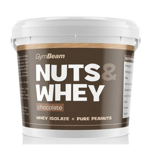 Maslac od kikirikija s proteinima od čokolade GYmbeam u plastičnoj kantici od 1000 grama