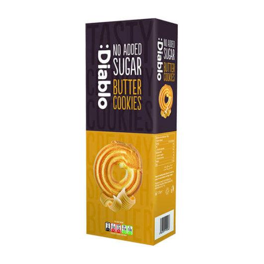Čajni keksi bez dodanog šećera 135g - Diablo