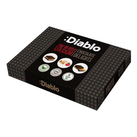 Čokoladne Praline bez dodanog šećera 115g - Diablo