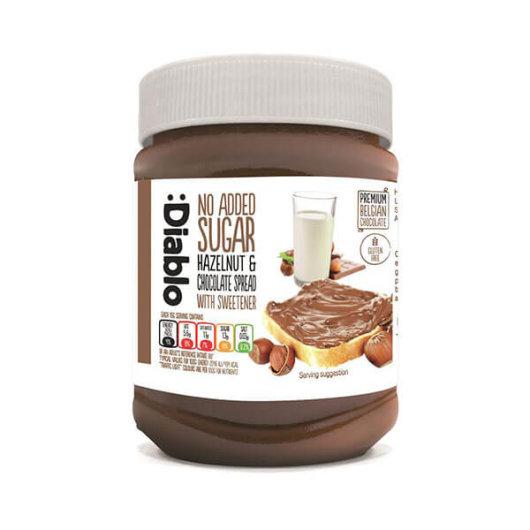 Čokoladni namaz od lješnjaka bez dodanog šećera 350g - Diablo