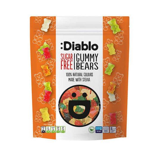 Voćni gumeni bomboni bez šećera 75g - Diablo