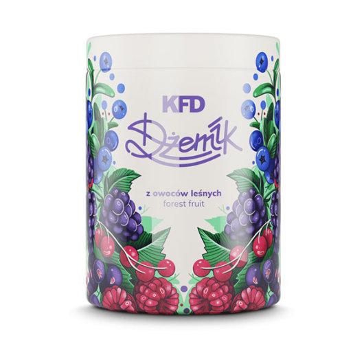 Džem s komadima šumskog voća 1000g - KFD Nutrition