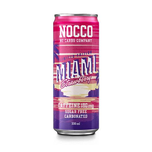 NOCCO BCAA napitak Miami Jagoda 330ml - NOCCO