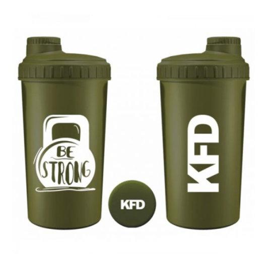 Zeleni shaker BE STRONG 700ml - KFD Nutrition