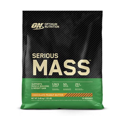 Serious Mass gainer 5450g čokoalda/kikiriki maslac – Optimum Nutrition