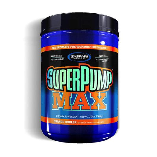 SuperPUMP MAX 640g grožđe - Gaspari Nutrition