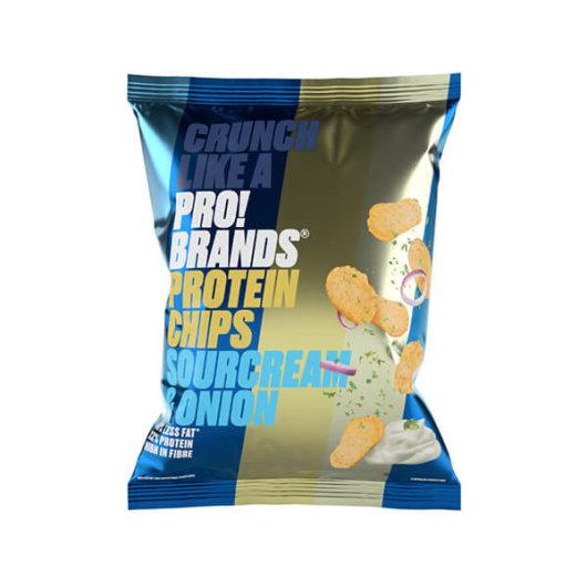 ProteinPRO čips 50g luk&vrhnje – FCB Sweden