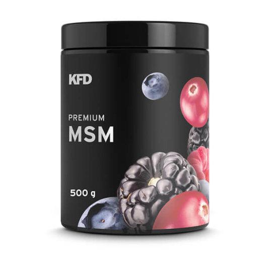 Premium MSM 500g šumsko voće - KFD Nutrition