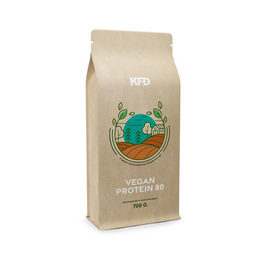 KFD Vegan Protein 80 700g cookies - KFD Nutrition