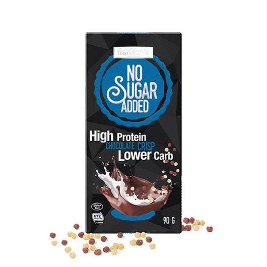 Proteinska čokolada Chocolate Crisp bez dodanog šećera 90g - Frankonia