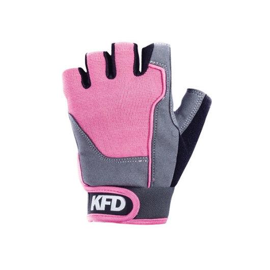 Rukavice za trening VEL. L roza - KFD Nutrition