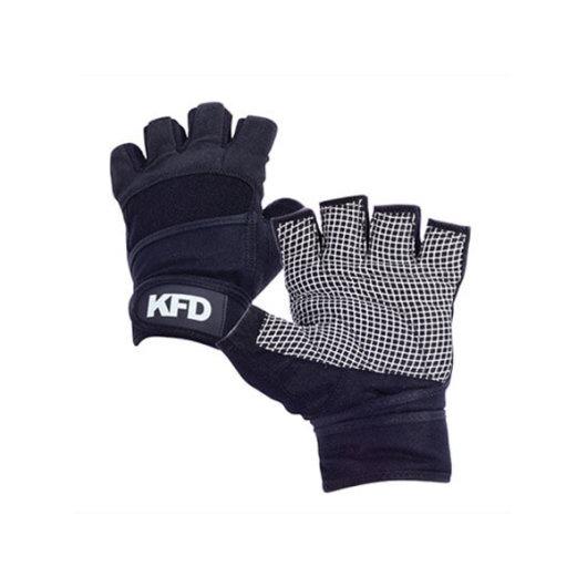 Rukavice za trening VEL. M crna - KFD Nutrition
