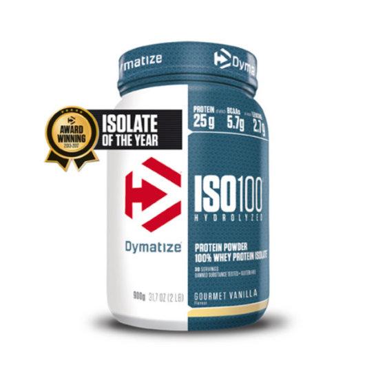 ISO100 Protein 900g vanilija – Dymatize