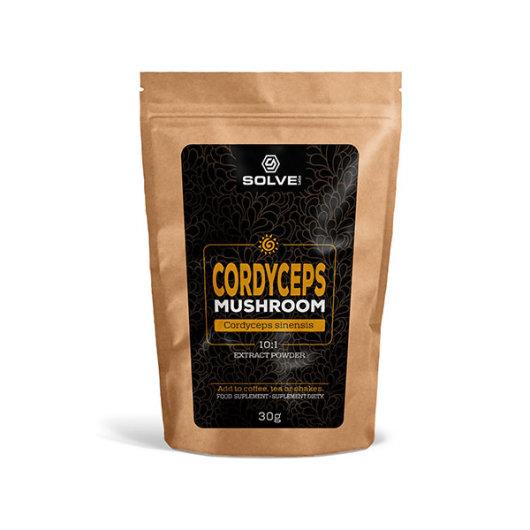 Cordyceps gljiva ekstrakt 30g - Solve