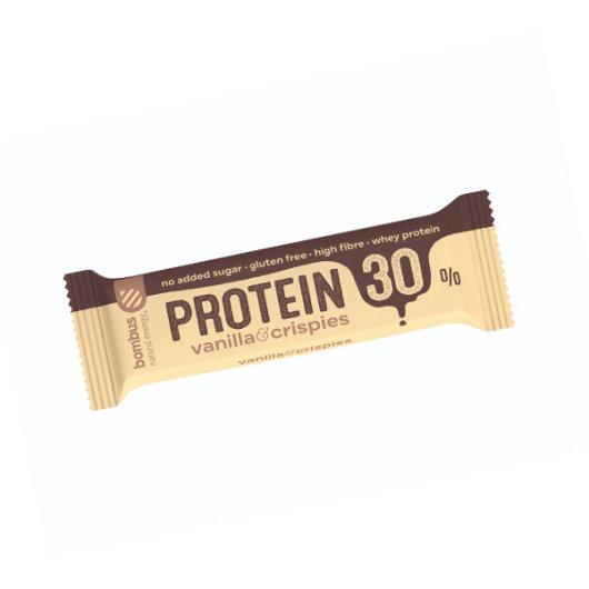 Proteinska čokoladica 30% vanilija 50g - Bombus