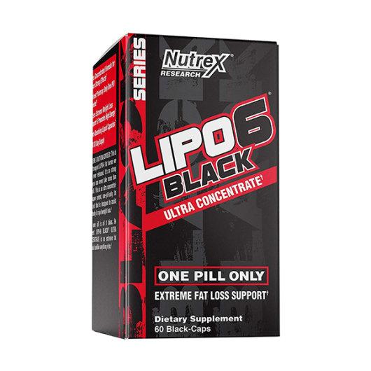 NUTREX Lipo 6 Black Ultra 60 kapsula - Nutrex