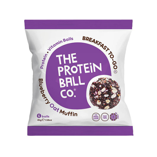 Proteinske kuglice Blueberry Oat Muffin 45g - Protein Ball CO