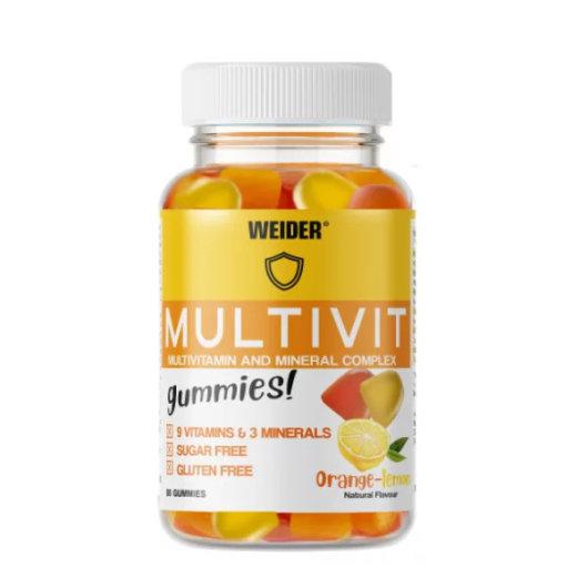 Multi-Vitamin gummies 80kom - Weider