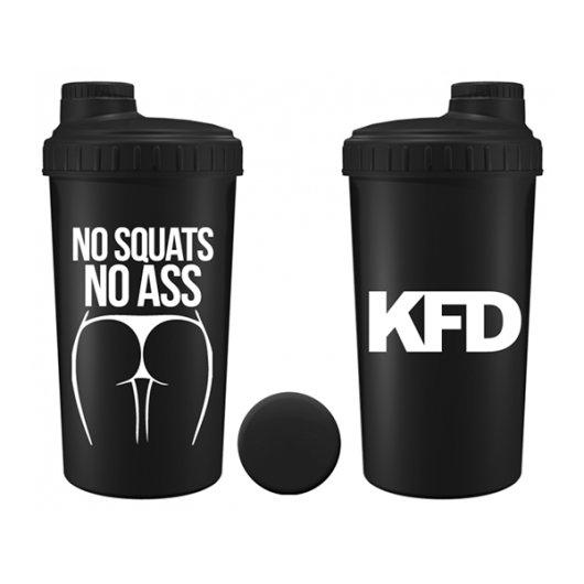 Crni shaker NO Squat 700ml - KFD Nutrition