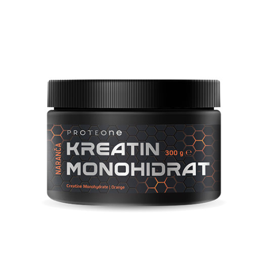 Kreatin monohidrat 300g naranča - ProteONE