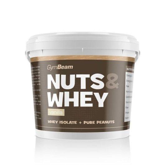 Maslac od kikirikija s proteinima od vanilije GYmbeam u plastičnoj kantici od 1000 grama