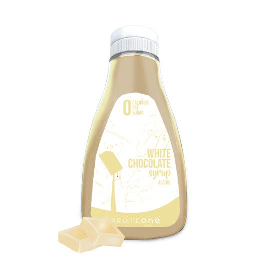 Preljev bez kalorija od bijele čokolade ProteONE u plastičnoj ambalaži od 425ml