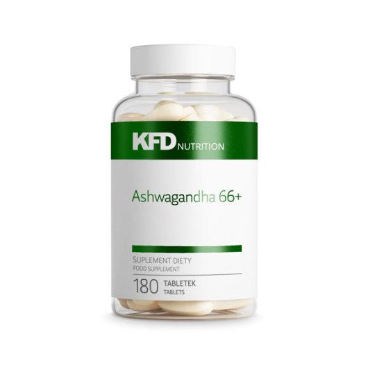 Ashwagandha 66+ u prozirnom pakiranju od 180 tableta