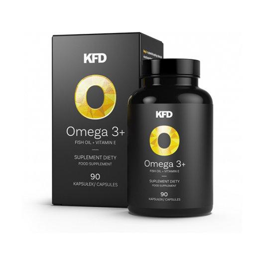Omega 3 kapsule KFD Nutrition u ambalaži od 90 kapsula