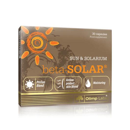 Beta Solar tablete za tamnjenje 30 kapsula – Olimp Nutrition