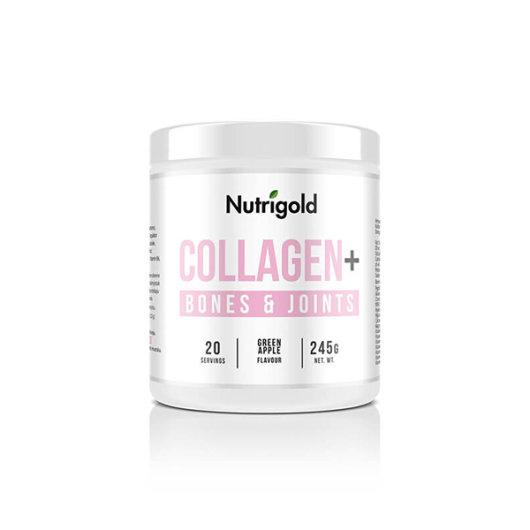KOlagen u prahu Nutrigold za zdravlje kosti u posudici od 245 grama