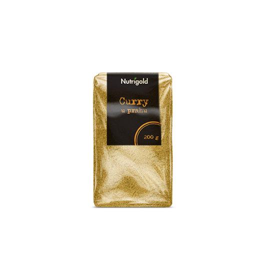 Curry u Prahu Nutrigold u prozirnoj ambalaži od 200 grama