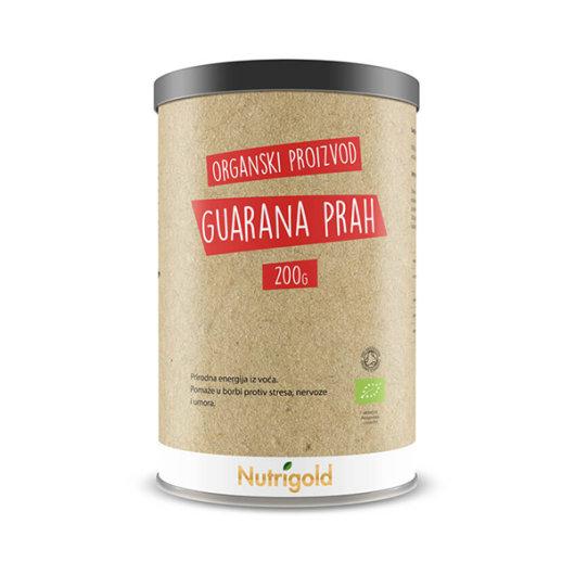 Organski nutrigold gurana prahu u posudi od 200 grama