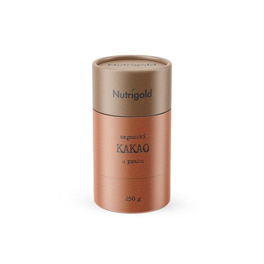 Organski nutrigold kakao u prahu u posudi od 250 grama