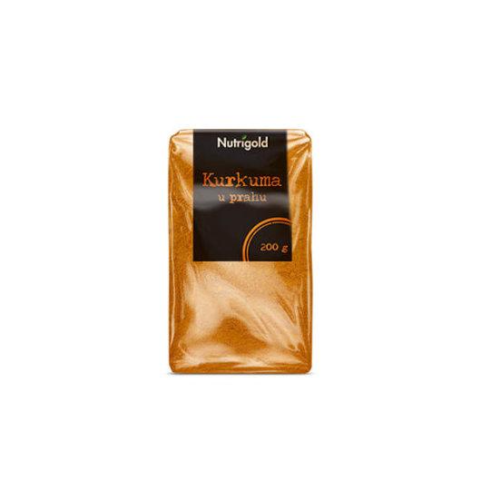 Kurkuma u prahu u prozirnoj vrečici od 200 grama