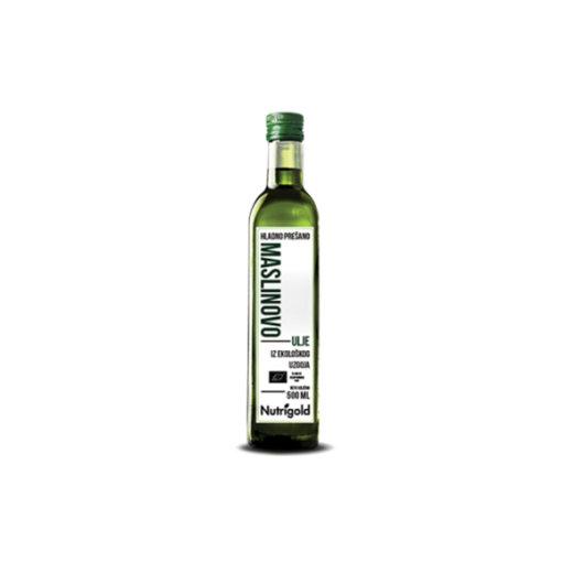 Organsko ekstra djevičansko maslinovo ulje Nutrigold u staklenoj boci od 1000ml