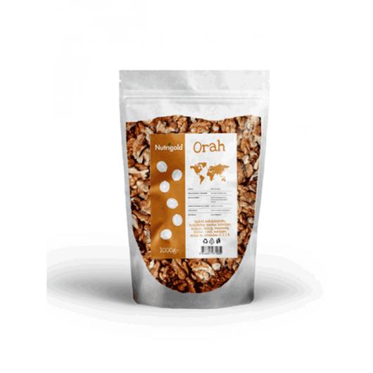 Orah jezgra Nutrigold u prozirnoj vrečici od 1000 grama