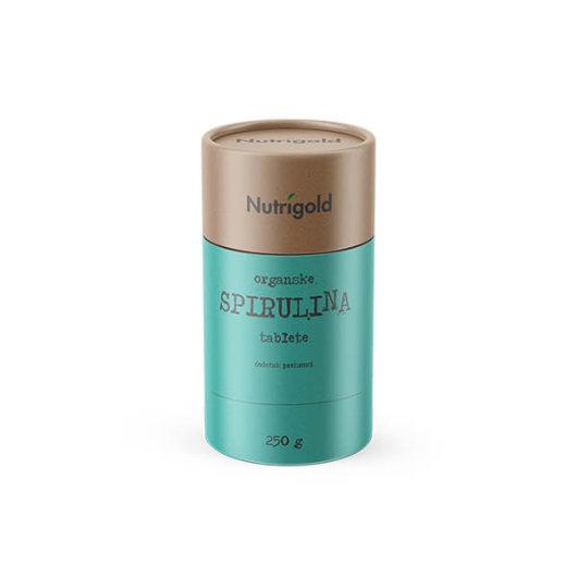 Spirulina tablete 250g organske - Nutrigold