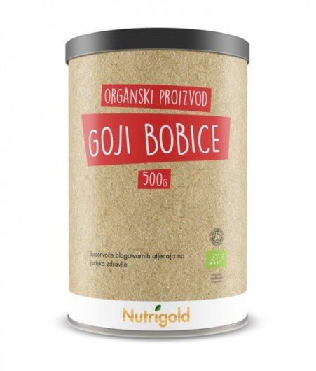 Organski nutrigold Goji bobice u posudi od 500 grama