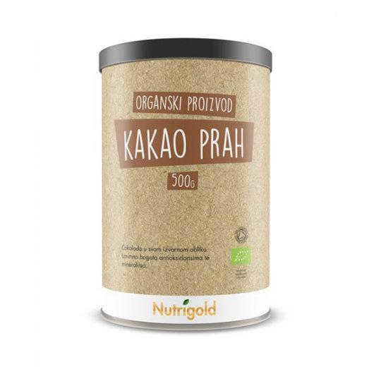 Organski nutrigold kakao u prahu u posudi od 500 grama