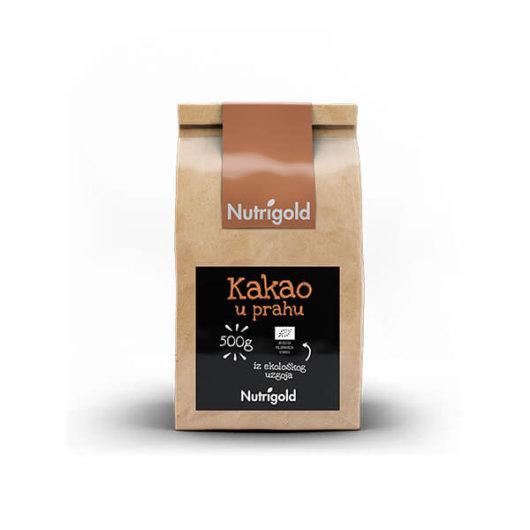 Organski nutrigold kakao u prahu u vrečiciod 500 grama
