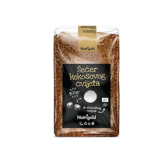 Šećer kokosovog cvijeta 500g organski - Nutrigold